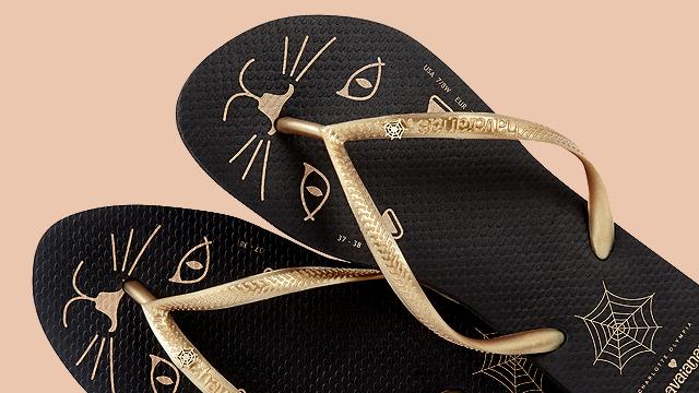 1146faa6b43 Charlotte Olympia x Havaianas Capsule Collection