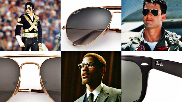 8598ab6776 A Look at Sunglasses Brand Ray-Ban Through the Years