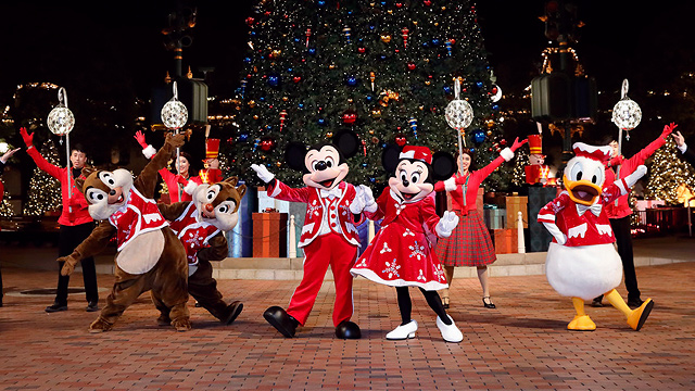 Christmas In Disneyland Hong Kong.Hong Kong Disneyland 2017 Christmas Celebration