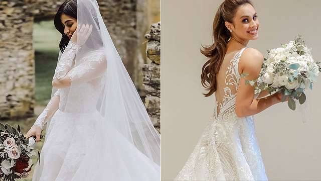 10 Gorgeous Celebrity Wedding Gowns (2018 Edition) 5de3d8e39547