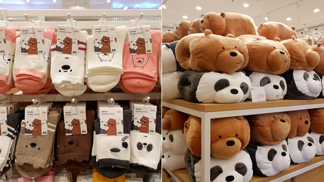 We Bare Bears Items Are Now Available at Miniso