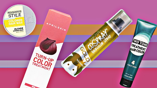 10 Temporary Hair Colors to Amp Up Your Look | SPOT.ph