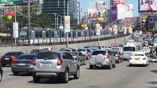 Single passenger car ban in edsa