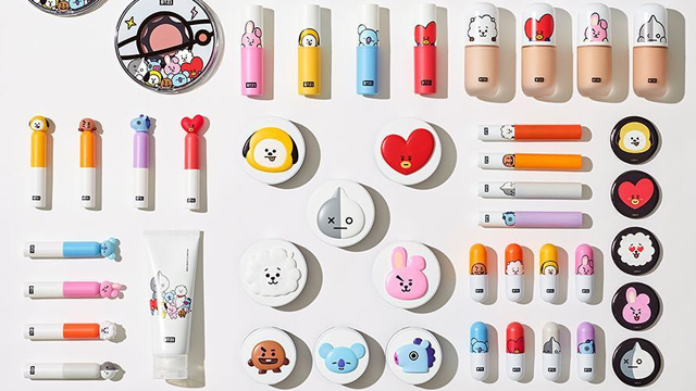 BTS x VT Cosmetics Available on Rare Official Website