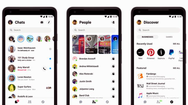 Facebook Messenger Update for iOS