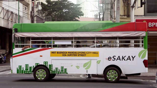 Dotr And Ltfrb Deploys Makati Mandaluyong Esakay Jeeps