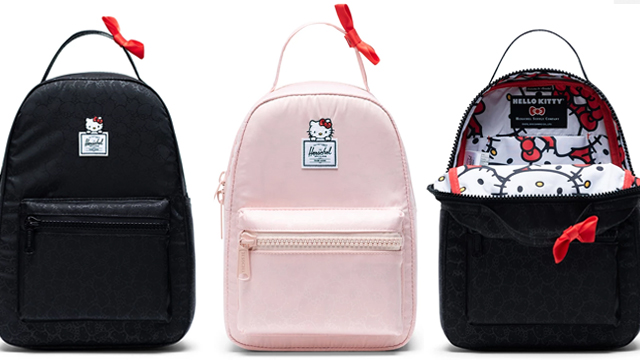 7d2cb2a86fa1 Hello Kitty x Herschel Supply Collection