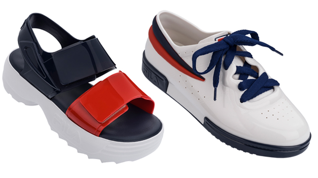 45c9a4a6e49a The Melissa x FILA Collection Is Sporty-Chic