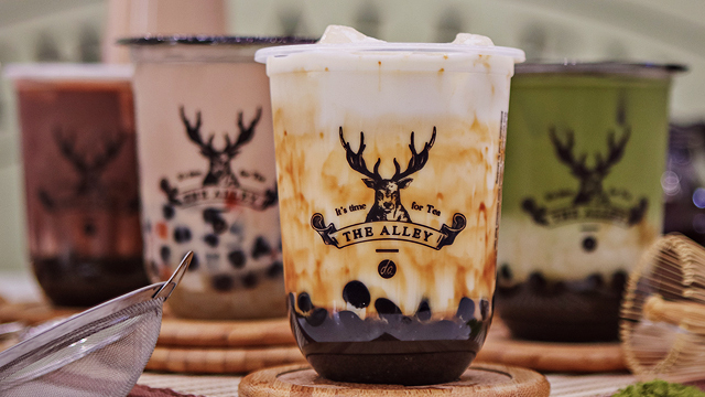 The Alley Milk Tea Opens at SM Mall of Asia
