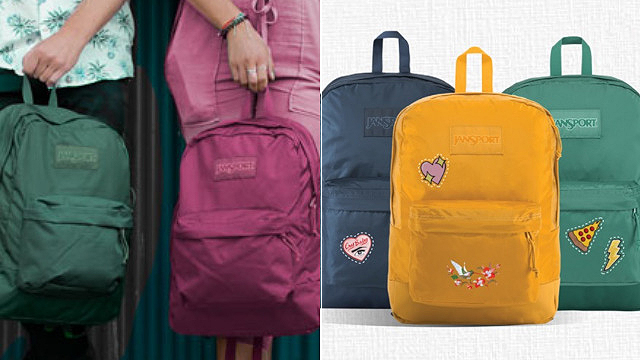 Get Free Embroidery or Patching When You Buy a JanSport Backpack