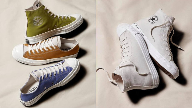 colores y llamativos buena reputación mejores marcas The Converse Renew Sneakers Are Made From Recycled Materials