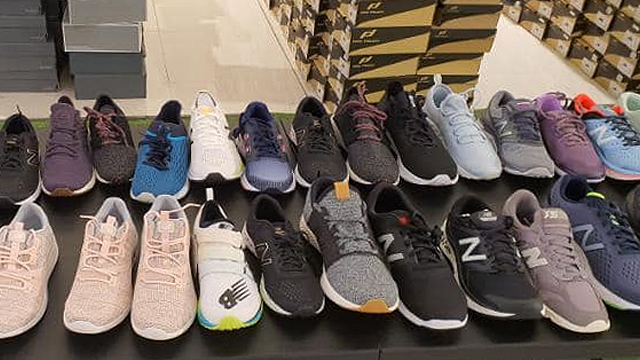 warehouse sports shoes