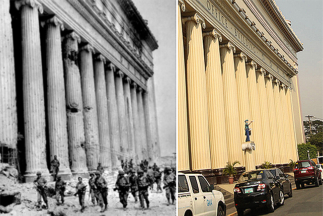 Then and Now: These photos of Manila during World War II vs