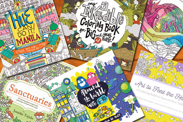 Color It Pinoy Local Coloring Books You Need On Your Bookshelf