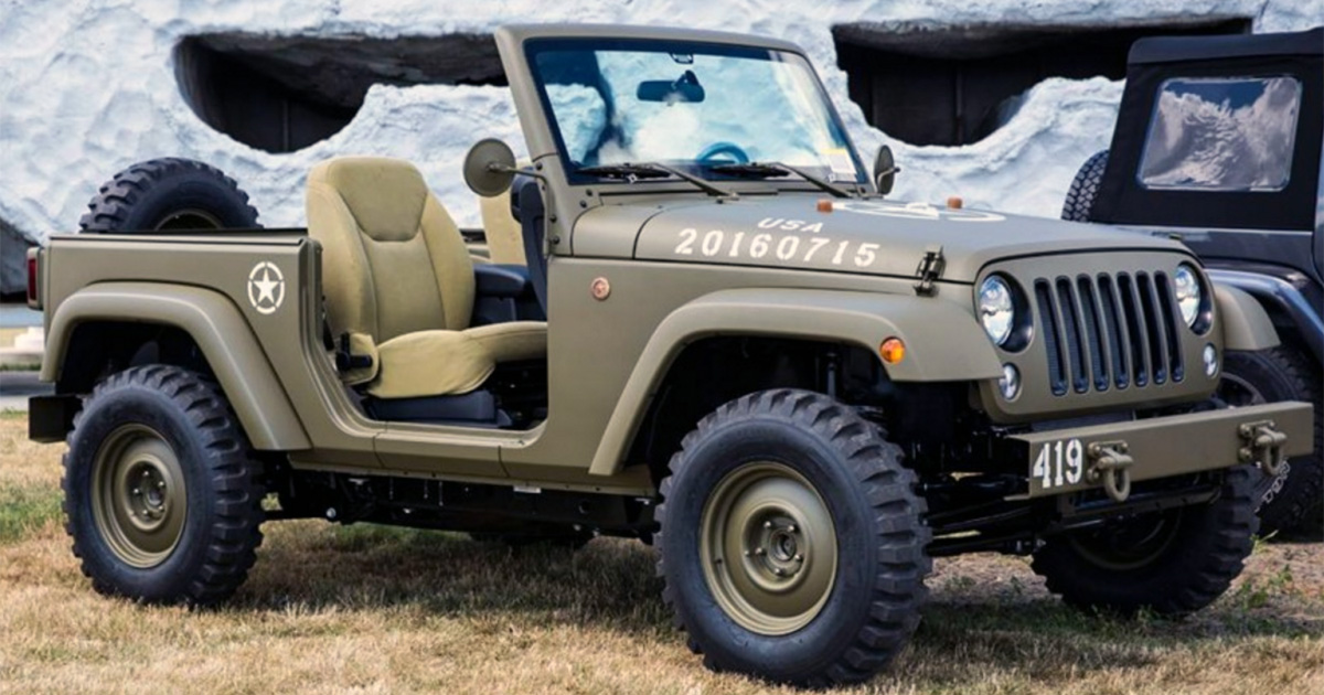 Jeep Celebrates 75th Birthday By Paying Tribute To The