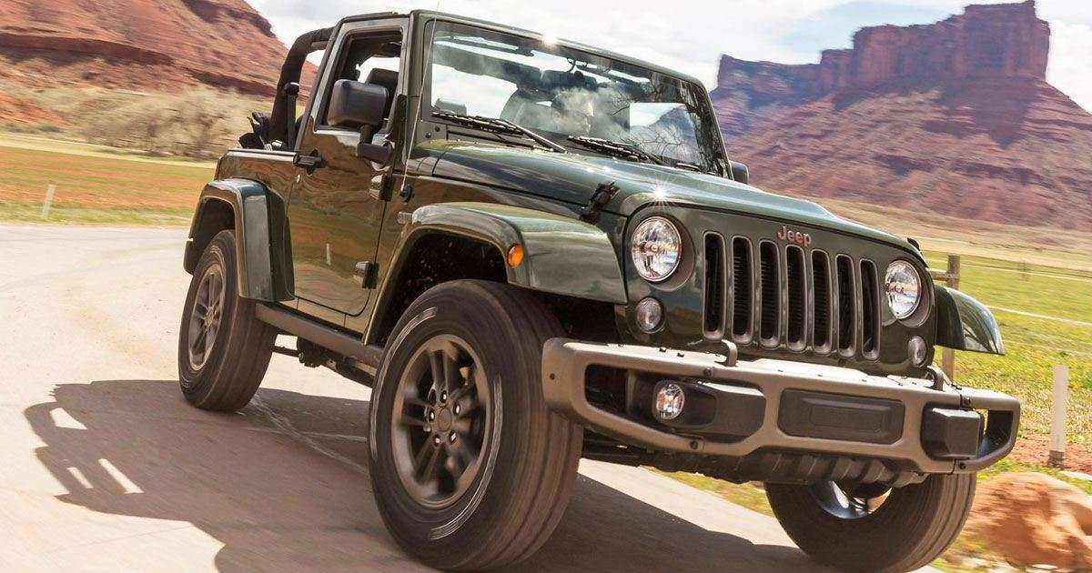 Jeep Announces Intention For Hybrid Self Driving Wrangler