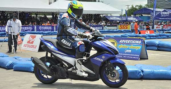 Yamaha Introduces Mio Aerox 155 To Philippine Scooter Lineup