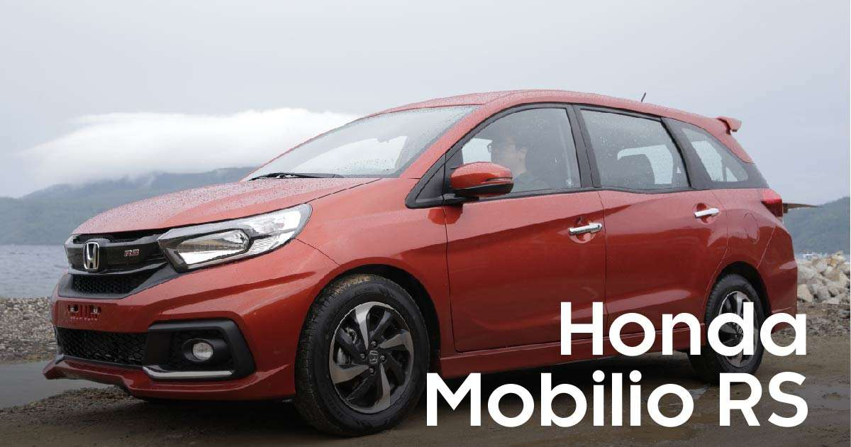 The Honda Mobilio Rs Finally Gets Looks Worthy Of Its Name