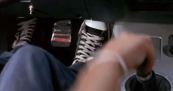 What's the best way to release the clutch pedal after shifting?