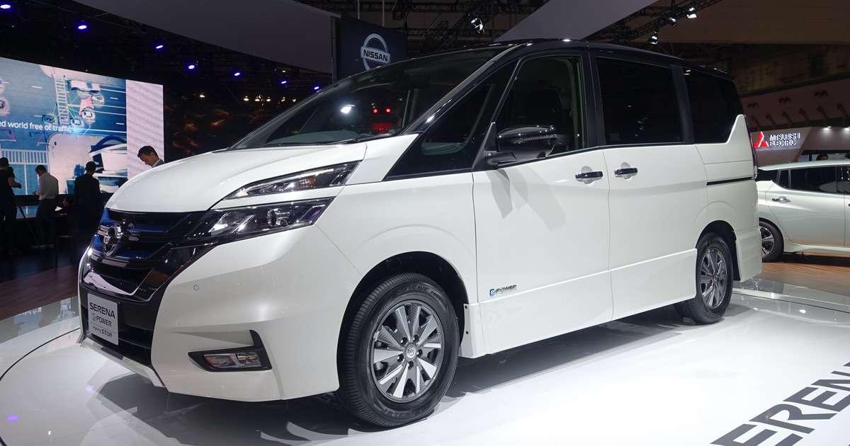 Japanese Car Brands >> Nissan Serena e-Power: an electric minivan that can self ...