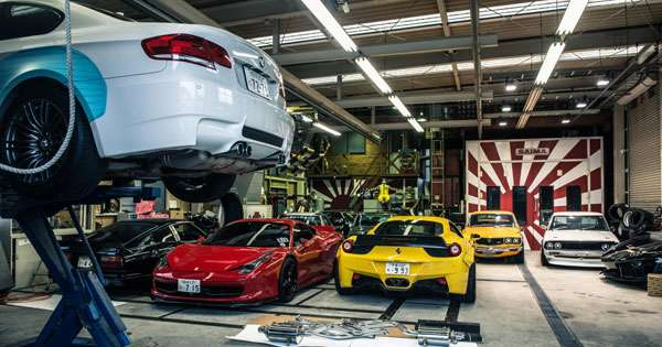 28 images: A tour of the Liberty Walk headquarters