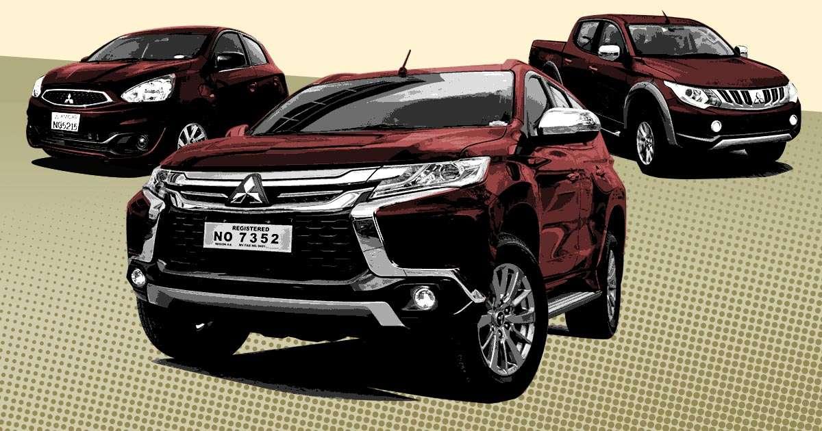Mitsubishi PH updated 2018 price list