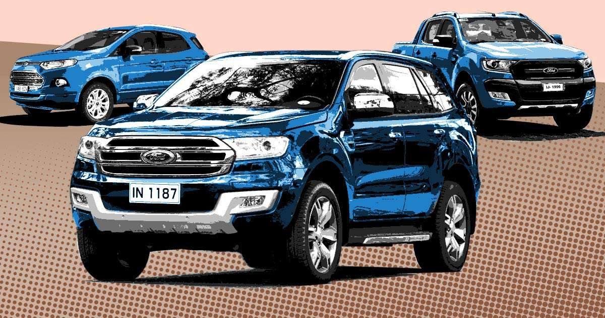 ford ph reveals  price list ranger lineup  cheaper