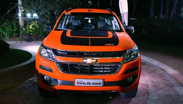 Chevrolet Trailblazer 2018 Price Specs And Features