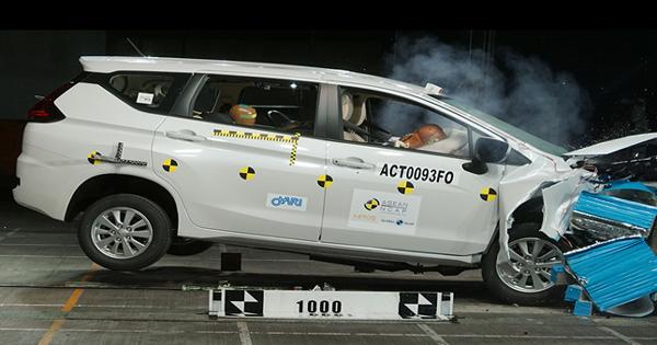 Mitsubishi Xpander Gets 4-star Safety Rating From ASEAN NCAP