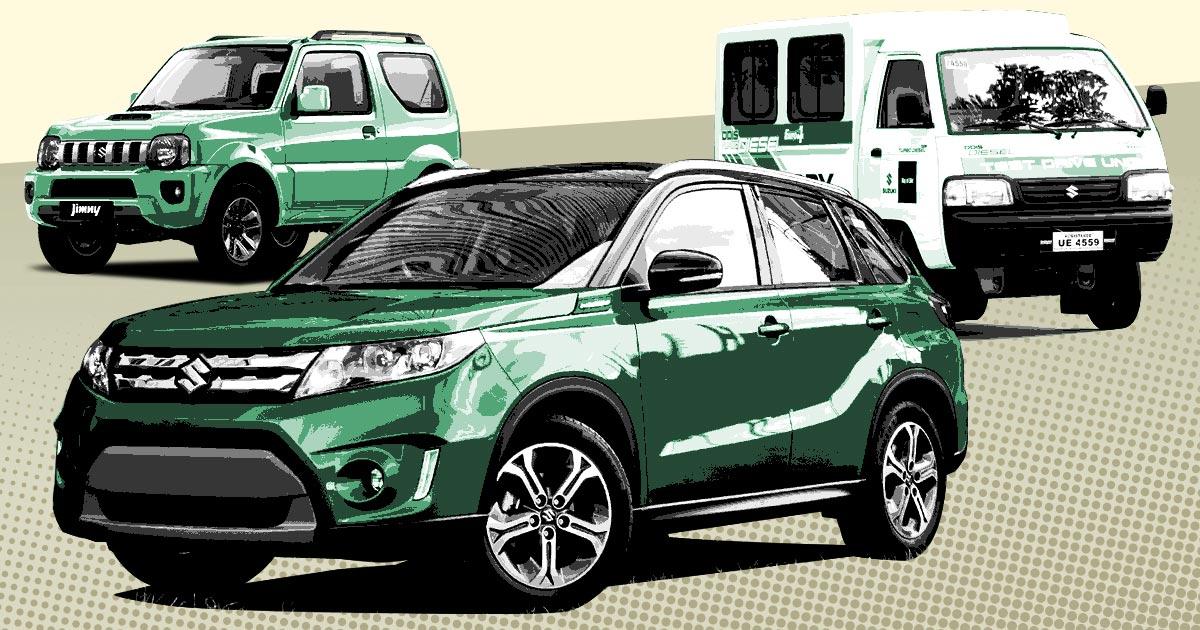 Suzuki Philippines 2018 price list