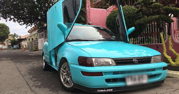 Pm Sent This Crazy Wing Door Toyota Corolla Is Really For