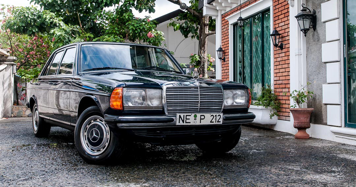 This 1983 Mercedes Benz 240d Will Cruise Through The End Of Days