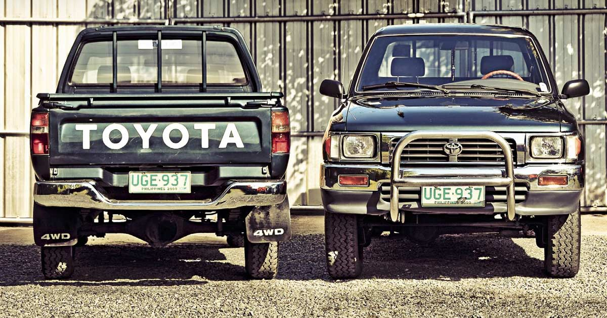 1988 1998 Toyota Hilux Review Price Photos Features Specs