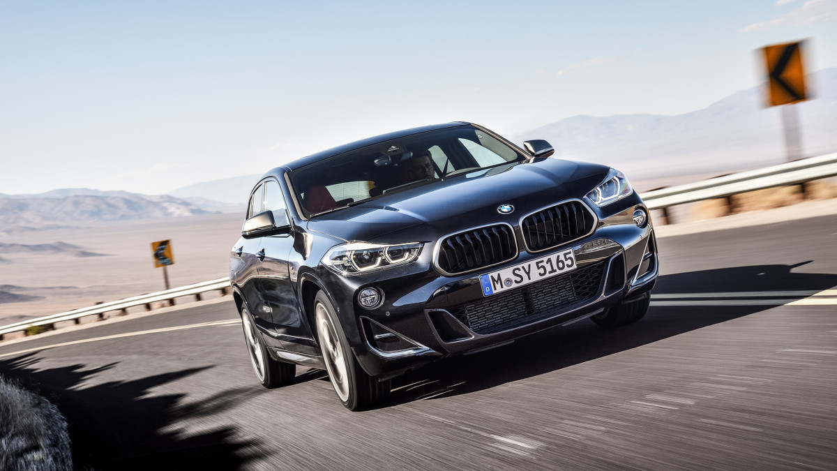 Bmw Unveiles New X2 Range Topper And X5 Plug In Hybrid