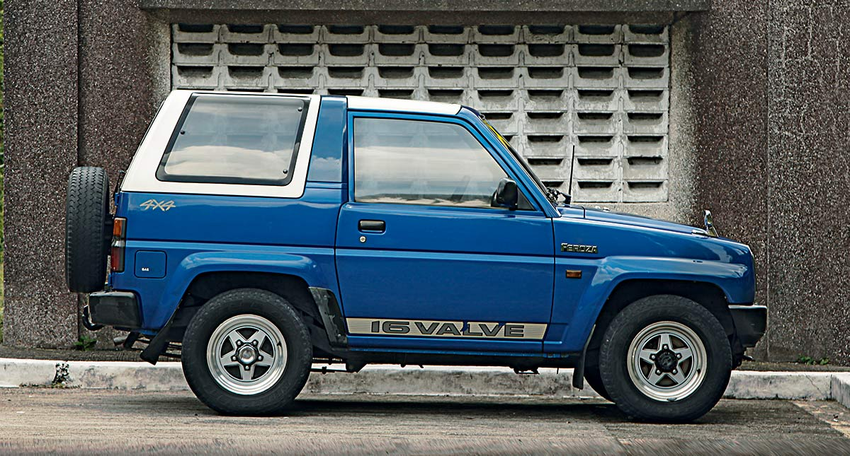 1990 Daihatsu Feroza: Review, Price, Photos, Features, Specs