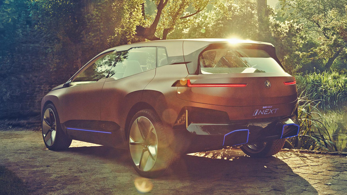 2021 BMW INext Is Fully Autonomous SUV >> The Vision Inext Is Bmw S Future Electric Crossover
