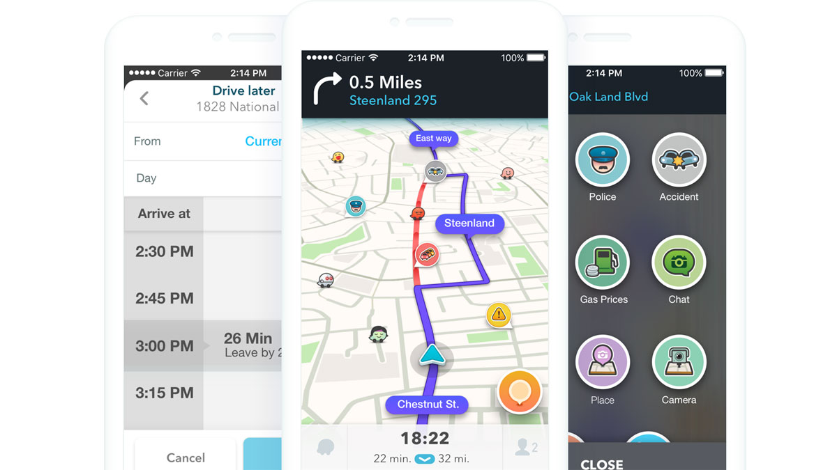 Waze is now compatible with Apple CarPlay