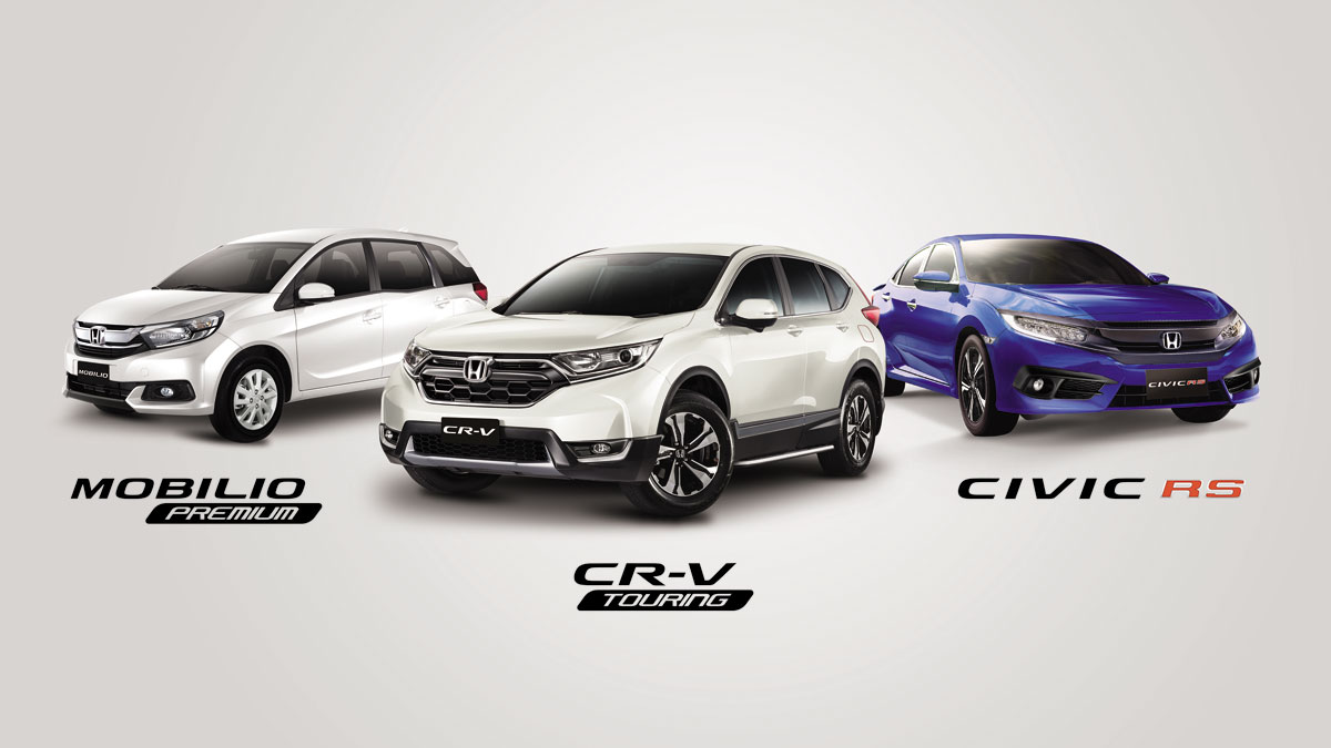 Honda Ph Unveils Limited Edition Cr V Mobilio And Civic Variants