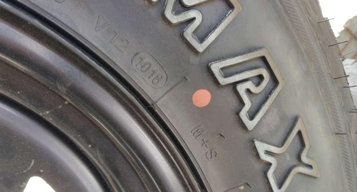 Tip sheet: Yellow dots on new tires