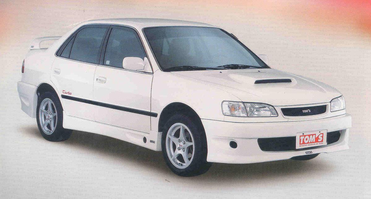 1999 TOM's Toyota Corolla Turbo story