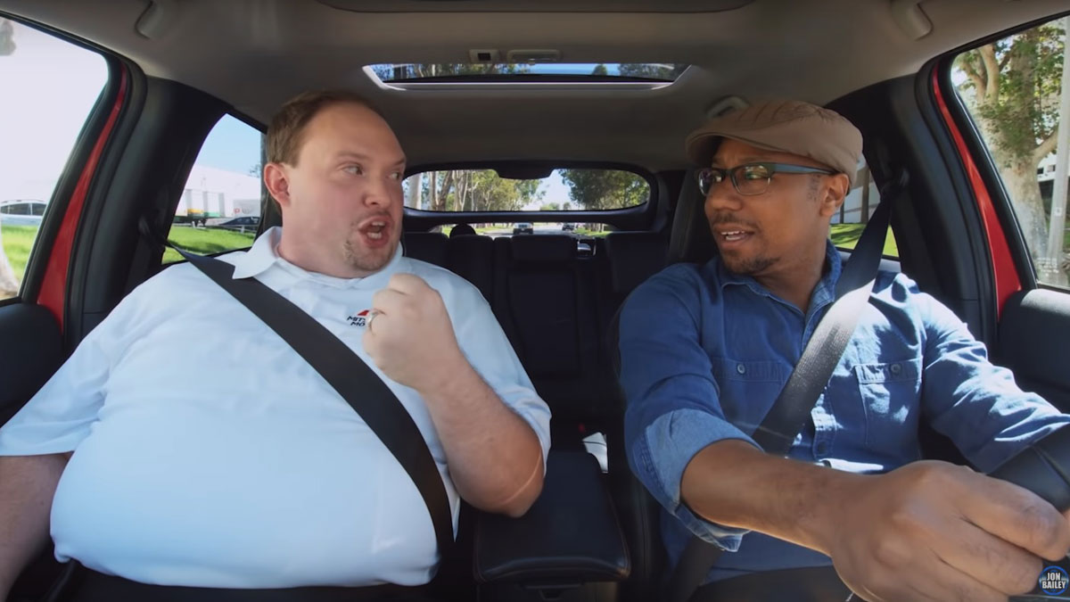 Epic Voice Guy Stars In An Ad For The Mitsubishi Eclipse Cross