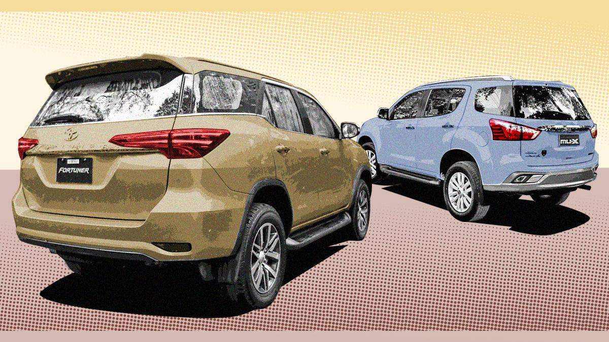Isuzu MU-X, Toyota Fortuner 2018: Specs, Prices, Features