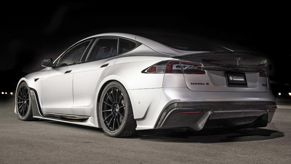 SEMA 2018: Tesla Model S gets carbon widebody kit courtesy of