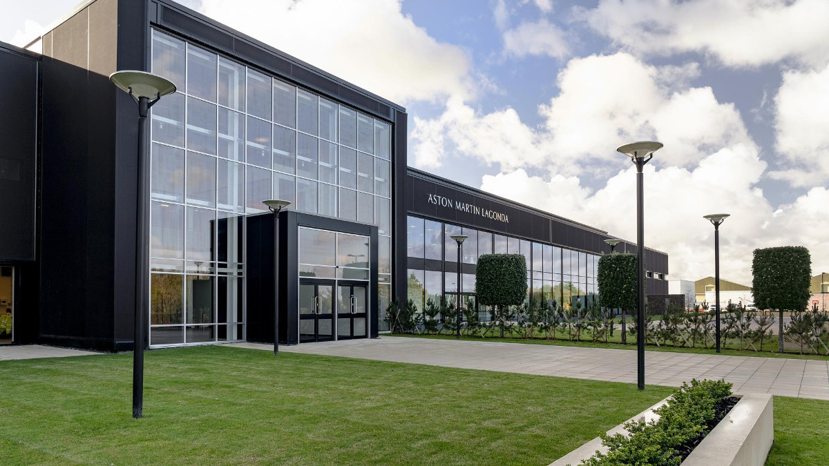 A Look Inside Aston Martin S New St Athan Facility In Wales