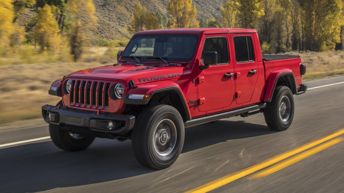 Gladiator Jeep Truck 2019
