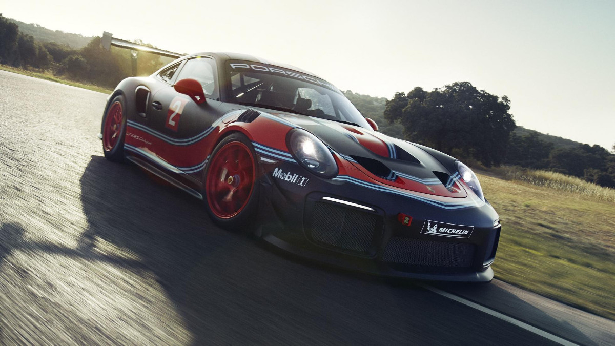 The Porsche 911 Gt2 Rs Clubsport Is A Track Only Turbo Race Car