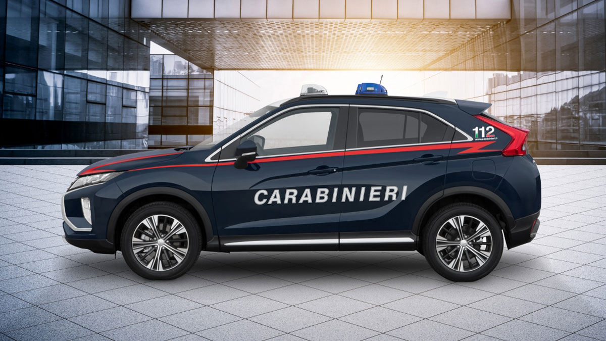 Italian State Police adds Mitsubishi Eclipse Cross to its fleet