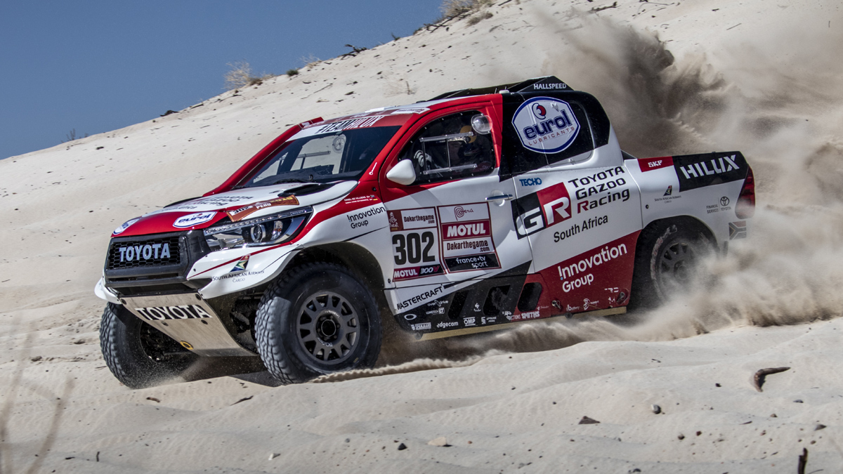 this toyota hilux will compete in the 2019 dakar rally. Black Bedroom Furniture Sets. Home Design Ideas