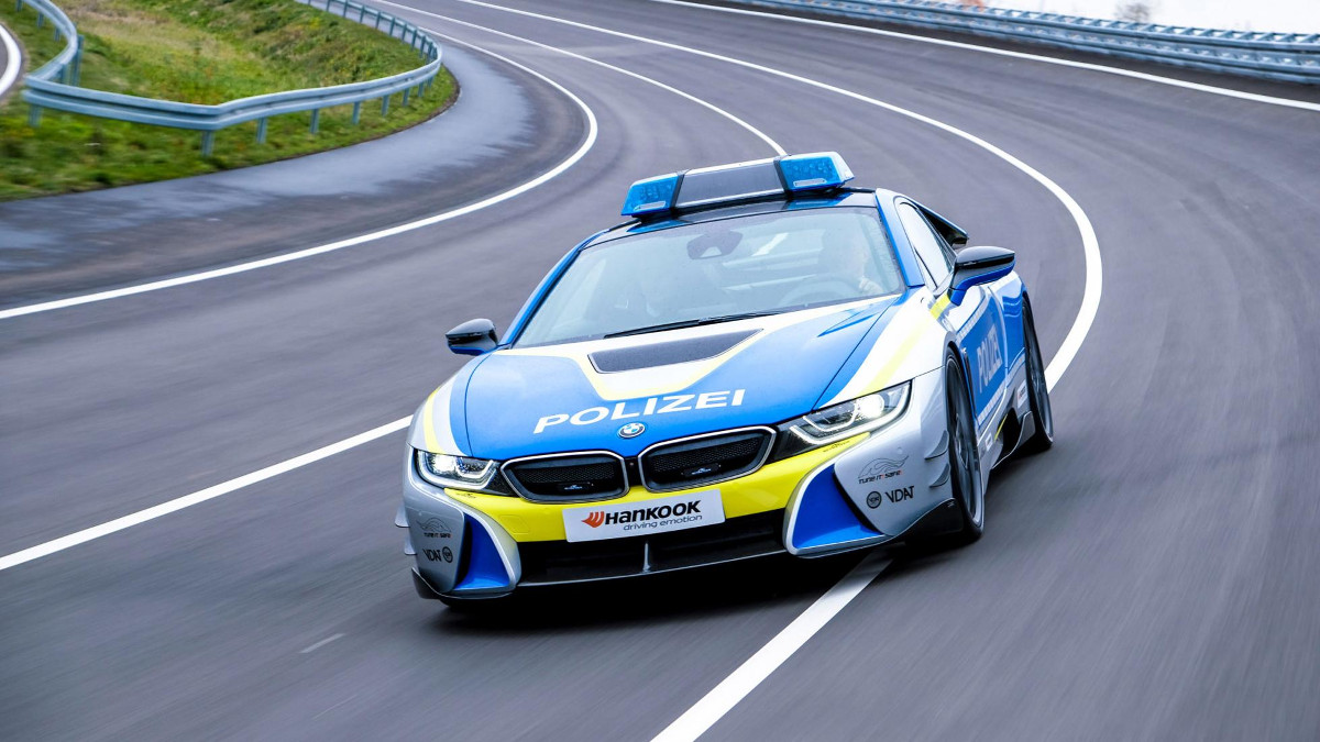 Ac Schnitzer Turns The Bmw I8 Into A Police Car