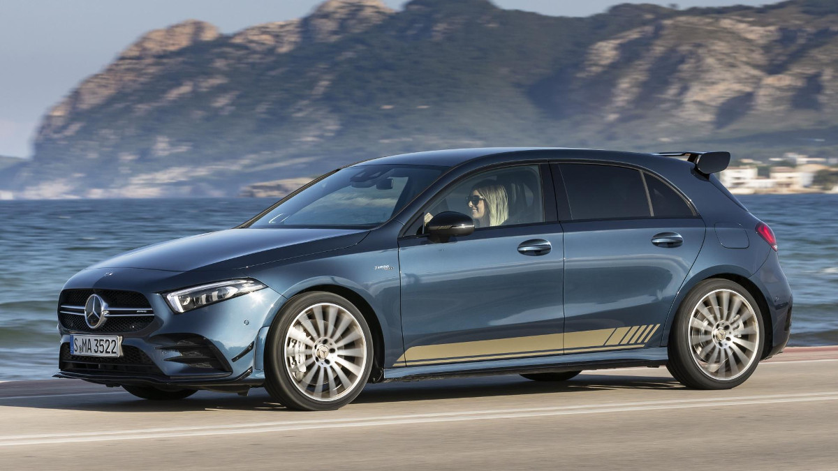 2019 Mercedes Amg A35 Review Price Photos Features Specs